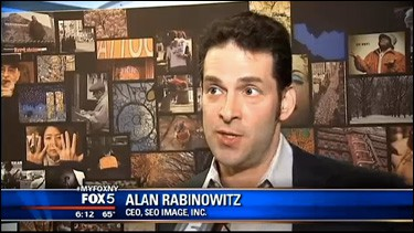Alan Rabinowitz SEO Image CEO on Fox 5 News NY