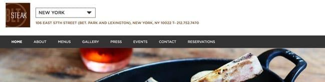 Hospitality SEO Case Study for New York Restaurants
