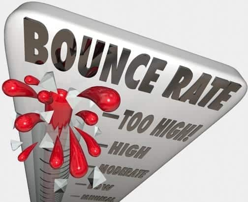 bounce rate optimization